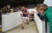 16 April 2017; David Redmond of Wexford ahead of the Allianz Hurling League Division 1 Semi-Final match between Wexford and Tipperary at Nowlan Park in Kilkenny. Photo by Ramsey Cardy/Sportsfile