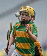 19 April 2017; Bill Hannon representing South Liberties, Co. Limerick in action against Killian Playon representing Clonlara, Co. Clare during the Go Games Provincial Days in partnership with Littlewoods Ireland Day 5 at Croke Park in Dublin. Photo by Matt Browne/Sportsfile