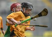 19 April 2017; Michael Collins representing Clonlara, Co. Clare in action against Michael O'Mara representing South Liberties, Co. Limerick during the Go Games Provincial Days in partnership with Littlewoods Ireland Day 5 at Croke Park in Dublin. Photo by Matt Browne/Sportsfile