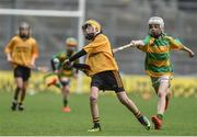 19 April 2017; Jack Begley representing Clonlara, Co. Clare in action against South Liberties, Co. Limerick during the Go Games Provincial Days in partnership with Littlewoods Ireland Day 5 at Croke Park in Dublin. Photo by Matt Browne/Sportsfile