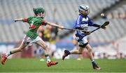 19 April 2017; Hugh Murnane representing Caherline, Co. Limerick, in action against Dara Nolan representing Crotta O'Neills, Co. Kerry, during the Go Games Provincial Days in partnership with Littlewoods Ireland Day 5 at Croke Park in Dublin. Photo by Matt Browne/Sportsfile