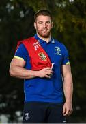 19 April 2017; Sean O'Brien of Leinster who was today named in the 2017 British & Irish Lions squad that will tour New Zealand this summer at Leinster Rugby HQ in UCD, Belfield, Dublin. Photo by Seb Daly/Sportsfile