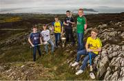 19 April 2017; In attendance at the Bank of Ireland Celtic Challenge Launch 2017 are, from left, Jake Hogan of Galway Tribesmen, Kevin O'Sullivan of Kildare Cadets, Jack Donnelly of Roscommon, John Cosgrove of Sligo, Patrick Lyons of Mayo and Paddy Skelly of Donegal, in Howth, Co Dublin.  Photo by Sam Barnes/Sportsfile