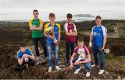19 April 2017; In attendance at the Bank of Ireland Celtic Challenge Launch 2017, from left, Éanna McMahon of North Clare, Conor Butler of Offaly, Eoin Morris of North Tipperary,  Jack Hughes of Galway McDonagh, Ronan Flanery of Galway Maroon and Liam Delaney of Laois, in Howth, Co Dublin.  Photo by Sam Barnes/Sportsfile