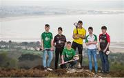 19 April 2017; In attendance at the Bank of Ireland Celtic Challenge Launch 2017 are, from left, Mikey Hayes of Limerick City, Evan Carroll of West Cork, Liam Twomey of Kerry, Darragh Whelan of Clare South/East, Seán Ó'Connor of West Limerick and Trevor Doyle of North Cork, in Howth, Co Dublin.  Photo by Sam Barnes/Sportsfile