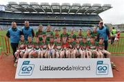 19 April 2017; The Crotta O'Neills, Co. Kerry, team during the Go Games Provincial Days in partnership with Littlewoods Ireland Day 5 at Croke Park in Dublin.   Photo by Piaras Ó Mídheach/Sportsfile