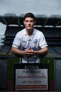 20 April 2017; Dublin senior footballer Diarmuid Connolly, in Croke Park, Dublin, at the launch of the Beko Club Bua award scheme, a new club accreditation and health check system co-ordinated by Leinster GAA for clubs in the province. For more information visit Leinstergaa.ie.  Photo by Stephen McCarthy/Sportsfile