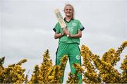 21 April 2017; Irish International Women's Cricket player Gaby Lewis at the announcement of Hanley Energy as the official sponsors of the Irish International Women's Cricket Team at Hanley Head Office, City North Business Park in Stamullin, Meath. Photo by Cody Glenn/Sportsfile