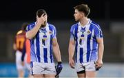 20 April 2017; Bob Dwan, left, and Darragh Nelson of Ballyboden St Endas dejected after the Dublin County Senior Club Football Championship Round 1 match between Ballyboden St Endas and St Oliver Plunketts Eoghan Ruadh at Parnell Park in Dublin. Photo by Piaras Ó Mídheach/Sportsfile