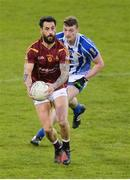 20 April 2017; Paul Galvin of St Oliver Plunketts Eoghan Ruadh in action against Aran Waters of Ballyboden St Endas during the Dublin County Senior Club Football Championship Round 1 match between Ballyboden St Endas and St Oliver Plunketts Eoghan Ruadh at Parnell Park in Dublin. Photo by Piaras Ó Mídheach/Sportsfile