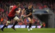 22 April 2017; Owen Farrell of Saracens in action against Peter O'Mahony of Munster during the European Rugby Champions Cup Semi-Final match between Munster and Saracens at the Aviva Stadium in Dublin. Photo by Brendan Moran/Sportsfile