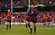 22 April 2017; Peter O'Mahony of Munster following their defeat in the European Rugby Champions Cup Semi-Final match between Munster and Saracens at the Aviva Stadium in Dublin. Photo by Ramsey Cardy/Sportsfile