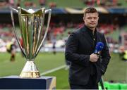 22 April 2017; BT Sport pundit Brian O'Driscoll ahead of the European Rugby Champions Cup Semi-Final match between Munster and Saracens at the Aviva Stadium in Dublin. Photo by Diarmuid Greene/Sportsfile