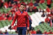 22 April 2017; Conor Murray of Munster ahead of the European Rugby Champions Cup Semi-Final match between Munster and Saracens at the Aviva Stadium in Dublin. Photo by Diarmuid Greene/Sportsfile