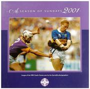 This 146 page hardback coffee table book (300mm x 300mm) is a collection of images of the 2001 Gaelic Games year by the Sportsfile photographers.                With text by Irish Times journalist, Tom Humphries, it is a treasured record of the 2001 GAA season to be savoured by players, spectators and enthusiasts everywhere.                 A Season of Sundays 2001 is filled with moments of triumph, despair, humour and tears, moments of glory and genius. More than that though it is filled with with Ireland and with Irishness. These pages tell of Irish faces and Irish ways and Irish thoughts. And even in bad times there is a lovely grace in it all.