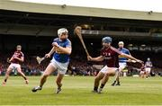 23 April 2017; Brendan Maher of Tipperary in action against Johnny Coen of Galway during the Allianz Hurling League Division 1 Final match between Galway and Tipperary at the Gaelic Grounds in Limerick. Photo by Diarmuid Greene/Sportsfile
