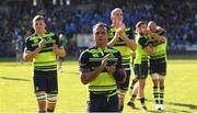 23 April 2017; Isa Nacewa of Leinster following the European Rugby Champions Cup Semi-Final match between ASM Clermont Auvergne and Leinster at Matmut Stadium de Gerland in Lyon, France. Photo by Stephen McCarthy/Sportsfile
