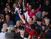 23 April 2017; Galway captain David Burke lifts the cup after the Allianz Hurling League Division 1 Final match between Galway and Tipperary at the Gaelic Grounds in Limerick. Photo by Diarmuid Greene/Sportsfile