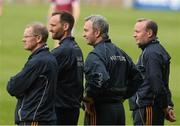 23 April 2017; Tipperary manager Michael Ryan, second from right, with his selectors Conor Stakelum, left, Declan Fanning and John Madden, right, during the last minute of the Allianz Hurling League Division 1 Final match between Galway and Tipperary at Gaelic Grounds, in Limerick. Photo by Ray McManus/Sportsfile