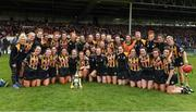 23 April 2017; The Kilkenny squad celebrate after the Littlewoods Ireland Camogie League Div 1 Final match between Cork and Kilkenny at Gaelic Grounds, in Limerick.  Photo by Ray McManus/Sportsfile