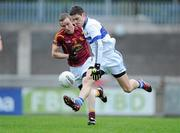 22 October 2011; Diarmuid Connolly, St Vincent's, in action against Shane Lyons, Oliver Plunkett's Eoghan Rua. Dublin County Senior Football Championship Quarter-Final, St Vincent's v Oliver Plunkett's Eoghan Rua, Parnell Park, Dublin. Picture credit: Brendan Moran / SPORTSFILE