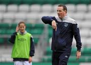 22 October 2011; Republic of Ireland assistant manager Ger Dunne. UEFA Women's Euro 2013 Qualifier, Republic of Ireland v Israel, Tallaght Stadium, Tallaght, Dublin. Picture credit: Stephen McCarthy / SPORTSFILE