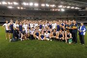 25 October 2011; The combined Australia and Victoria State GAA teams after a game during squad a training ahead of their first International Rules match against Ireland on Friday October 28th. Australia training - International Rules Series 2011, Etihad Stadium, Melbourne, Australia. Picture credit: Ray McManus / SPORTSFILE