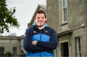 27 April 2017; Mike Ross of Leinster after a press conference at the RDS Arena in Ballsbridge, Dublin. Photo by Matt Browne/Sportsfile