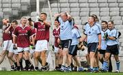 27 October 2011; Pat Gilroy, Dublin Selection, reacts after a late missed chance. Alan Kerins Project Charity Match, Galway Selection v Dublin Selection, Croke Park, Dublin. Picture credit: Brian Lawless / SPORTSFILE