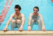 30 October 2011; Emmet Bolton, left, and Aidan Walsh during a visit to St Kilda Sea baths, St Kilda, Melbourne Bay, Australia. Picture credit: Ray McManus / SPORTSFILE