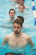 30 October 2011; Zach Touhy enjoys a swim as members of the Ireland International Rules Series 2011 team visit St Kilda Sea baths, St Kilda, Melbourne Bay, Australia. Picture credit: Ray McManus / SPORTSFILE