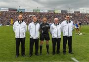 23 April 2017; Referee Colm Lyons with his umpires before the Allianz Hurling League Division 1 Final match between Galway and Tipperary at Gaelic Grounds, in Limerick. Photo by Ray McManus/Sportsfile