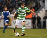 28 April 2017; Ronan Finn of Shamrock Rovers during the SSE Airtricity League Premier Division match between Shamrock Rovers and Limerick FC at Tallaght Stadium in Dublin. Photo by Matt Browne/Sportsfile