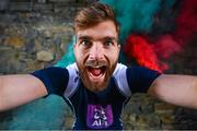 2 May 2017; Born to Breaffy, bred for Mayo, Aidan O'Shea is pictured at AIB's 'Club Fuels County' launch of the GAA All-Ireland Football Championship. AIB is proud to be a partner of the GAA for 25 years and backing both Club and County for a third consecutive year. For exclusive content and behind the scenes action throughout the season follow on Twitter, Instagram, Snapchat, Facebook and AIB.ie/GAA. Photo by Ramsey Cardy/Sportsfile