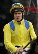 3 September 2011; Jockey Pat Smullen who rode Galileo's Choiceto win The Kilternan Stakes. Horse Racing at Leopardstown, Leopardstown Race Course, Dublin. Picture credit: Ray McManus / SPORTSFILE