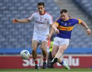 8 April 2017; Kevin O'Halloran of Tipperary in action against Padraig Rath of Louth during the Allianz Football League Division 3 Final match between Louth and Tipperary at Croke Park in Dublin. Photo by Brendan Moran/Sportsfile