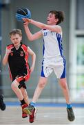 6 May 2017;  Tiernan Kane of Oranmore, Co Galway, competing in the U11 and O9 mixed Basketball during the Aldi Community Games May Festival 2017 at National Sports Campus, in Abbotstown, Dublin. Photo by Sam Barnes/Sportsfile
