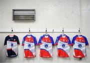 7 May 2017; The New York changing room prior to the Connacht GAA Football Senior Championship Preliminary Round match between New York and Sligo at Gaelic Park in the Bronx borough of New York City, USA. Photo by Stephen McCarthy/Sportsfile