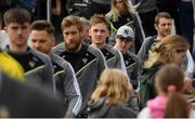 7 May 2017; Sligo players, including Kyle Cawley arrive at Gaelic Park prior to the Connacht GAA Football Senior Championship Preliminary Round match between New York and Sligo at Gaelic Park in the Bronx borough of New York City, USA. Photo by Stephen McCarthy/Sportsfile
