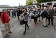 7 May 2017; Sligo captain Neil Ewing arrives at Gaelic Park prior to the Connacht GAA Football Senior Championship Preliminary Round match between New York and Sligo at Gaelic Park in the Bronx borough of New York City, USA. Photo by Stephen McCarthy/Sportsfile