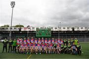 7 May 2017; The New York squad prior to the Connacht GAA Football Senior Championship Preliminary Round match between New York and Sligo at Gaelic Park in the Bronx borough of New York City, USA. Photo by Stephen McCarthy/Sportsfile