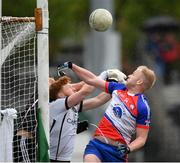 7 May 2017; Shane O'Connor of New York in action against Aidan Devaney of Sligo during the Connacht GAA Football Senior Championship Preliminary Round match between New York and Sligo at Gaelic Park in the Bronx borough of New York City, USA. Photo by Stephen McCarthy/Sportsfile