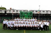 7 May 2017; The Sligo squad and management following the Connacht GAA Football Senior Championship Preliminary Round match between New York and Sligo at Gaelic Park in the Bronx borough of New York City, USA. Photo by Stephen McCarthy/Sportsfile