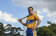 8 May 2017; Pat O'Donnell of Clare poses for a portrait during the Munster GAA Senior Football & Hurling Championships 2017 launch at Muckross House in Killarney, Co. Kerry. Photo by Brendan Moran/Sportsfile