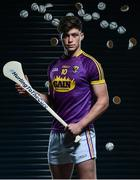 10 May 2017; Bord Gáis Energy today launched its new #HurlingToTheCore campaign at Croke Park to mark the beginning of a summer of hurling.  #HurlingToTheCore celebrates Bord Gáis Energy's belief that hurling is more than a sport or pastime - it is deeply ingrained in Irish history and stitched into our national identity.   In attendance at the Bord Gáis Energy Summer of Hurling Launch is Conor McDonald of Wexford. Croke Park in Dublin.   Photo by Sam Barnes/Sportsfile