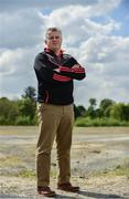11 May 2017; Mayo manager Stephen Rochford poses for a portrait at the Connacht GAA Senior Football & Hurling Championships 2017 launch at the Connacht GAA Centre in Claremorris, Co. Mayo. Photo by Sam Barnes/Sportsfile