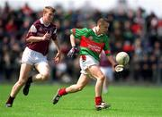 19 May 2002; Alan Costello, Mayo. Minor Football. Picture credit; Damien Eagers / SPORTSFILE