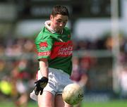 19 May 2002; David Geraghty, Mayo. Minor Football. Picture credit; Damien Eagers / SPORTSFILE