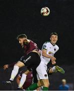 12 May 2017; Ryan Delaney of Cork City in action against Lee Grace of Galway United during the SSE Airtricity League Premier Division game between Galway United and Cork City at Eamonn Deasy Park in Galway. Photo by Sam Barnes/Sportsfile