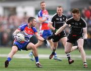 7 May 2017; Keith Quinn of New York in action against Cathal Henry of Sligo during the Connacht GAA Football Senior Championship Preliminary Round match between New York and Sligo at Gaelic Park in the Bronx borough of New York City, USA. Photo by Stephen McCarthy/Sportsfile